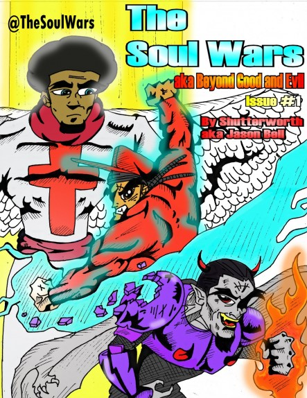 Soul Wars Issue 1 Cover