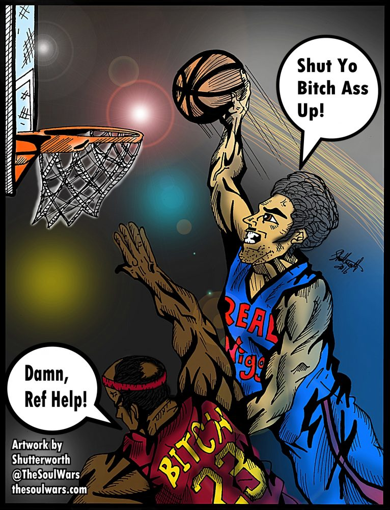 Bitch getting dunked on COLOR FINAL